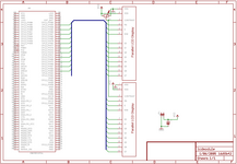 schematic for the LCD module to EB675001DIP application note